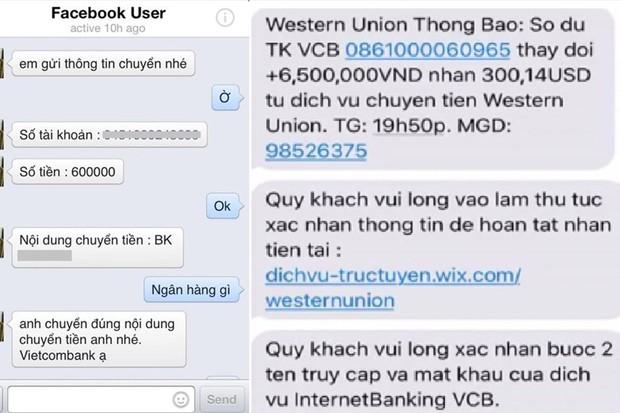 Techcombank cảnh báo thủ đoạn chiếm đoạt tiền qua kênh Western Union giả mạo - Ảnh 1.