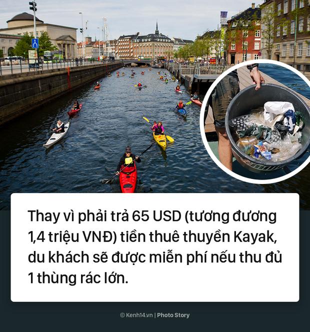Đan Mạch: Nhặt đủ 1 thùng rác, du khách được thuê thuyền miễn phí - Ảnh 9.
