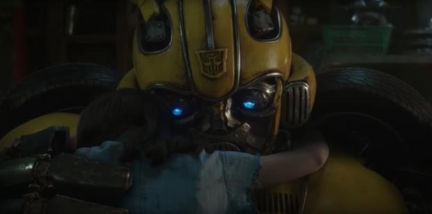 Người máy biến hình hóa phim ngôn tình ngay trailer Bumblebee - Ảnh 5.