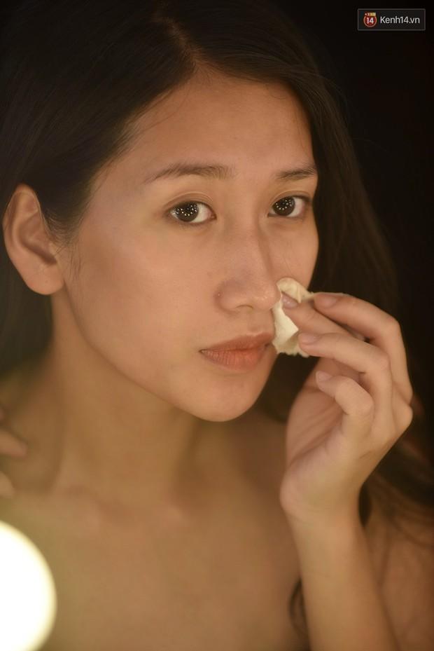 The Face Vietnam: Thí sinh lộ da mụn, quầng thâm trong phần thi mặt mộc - Ảnh 6.