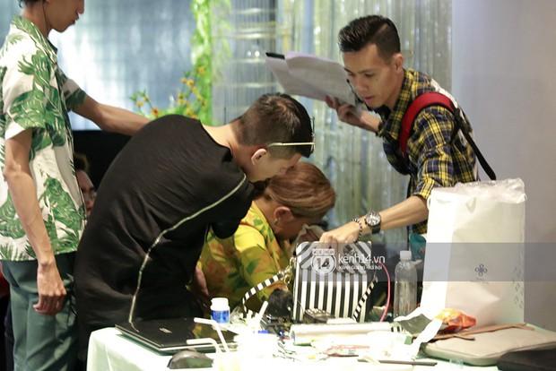 Nóng: Võ Hoàng Yến bất ngờ bật khóc vì tái phát chấn thương, The Face gián đoạn ghi hình - Ảnh 5.