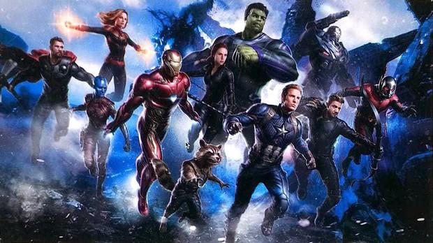 Captain Marvel và Hawkeye xuất hiện lồ lộ trong bản phác thảo ý tưởng được cho là của Avengers 4 - Ảnh 1.