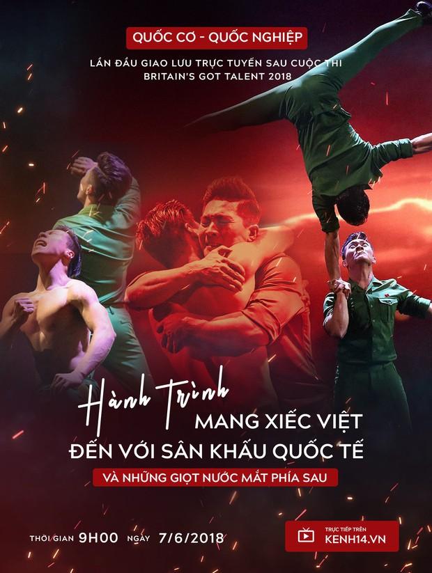 Trở về sau Britains Got Talent 2018, Quốc Cơ - Quốc Nghiệp lần đầu giao lưu trực tuyến trên Kenh14.vn vào 9h sáng mai! - Ảnh 1.
