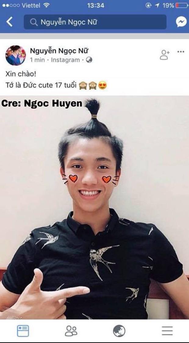 Khẳng định chỉ là bạn thân mà U23 Văn Đức và top 10 HHVN Ngọc Nữ lại dùng chung Facebook? - Ảnh 3.