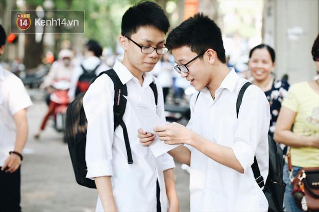 Đáp án đề thi môn Toán tuyển sinh vào lớp 10 tại Hà Nội năm học 2018 - 2019 - Ảnh 7.