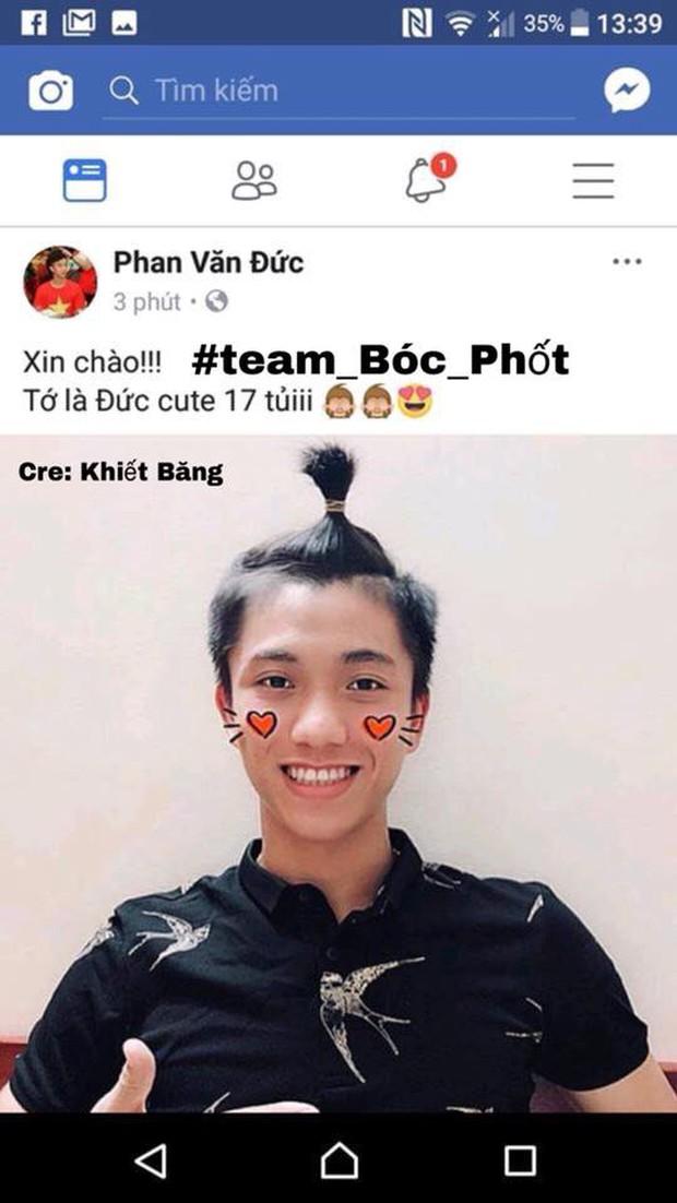 Khẳng định chỉ là bạn thân mà U23 Văn Đức và top 10 HHVN Ngọc Nữ lại dùng chung Facebook? - Ảnh 2.