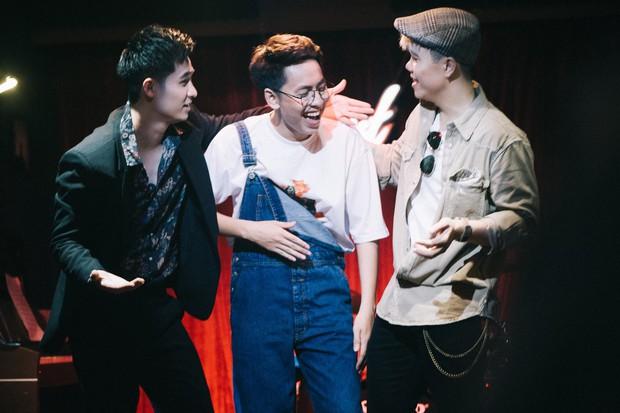 Osad, Đinh Mạnh Ninh, Hà Anh hóa ba chàng khờ đen đủi khi rơi vào lưới tình - Ảnh 5.
