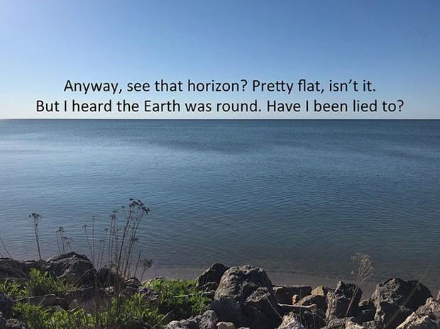 Bằng cách cực kì khéo léo, anh chàng này đã chứng minh rằng Trái Đất không phải là hình phẳng - Ảnh 5.