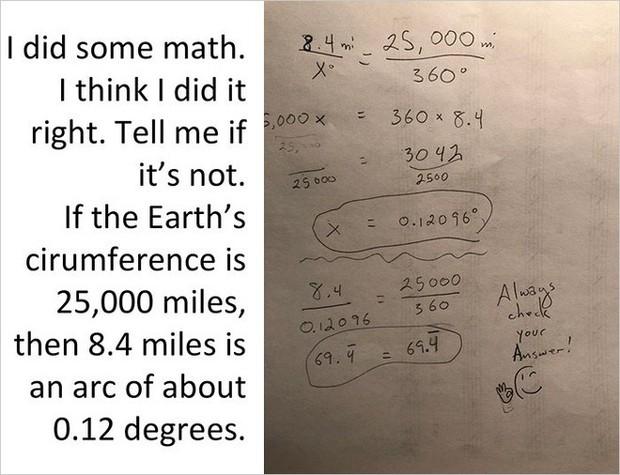 Bằng cách cực kì khéo léo, anh chàng này đã chứng minh rằng Trái Đất không phải là hình phẳng - Ảnh 10.