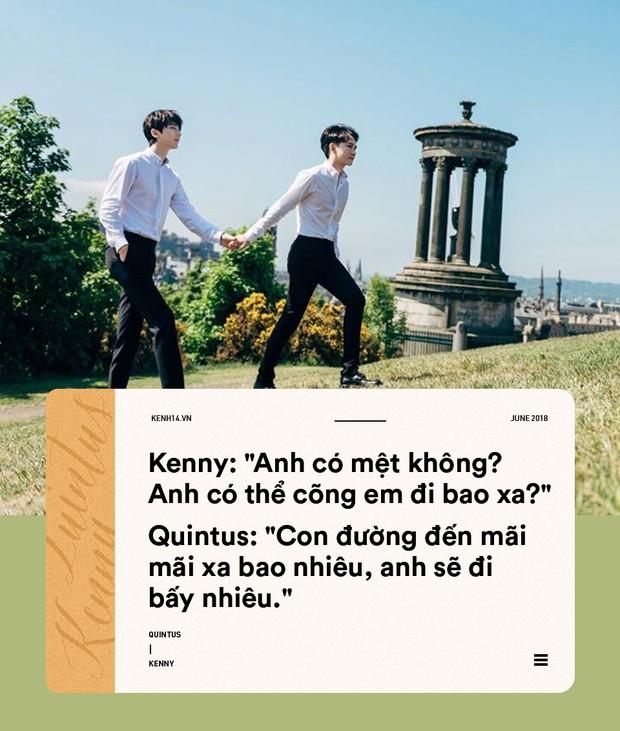 Tuyển tập những câu nói ngọt ngào hơn ngôn tình của cặp đôi đồng tính Quintus và Kenny - Ảnh 12.