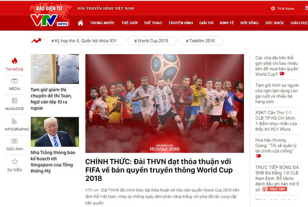 CHÍNH THỨC: VTV công bố sở hữu bản quyền World Cup 2018 - Ảnh 2.