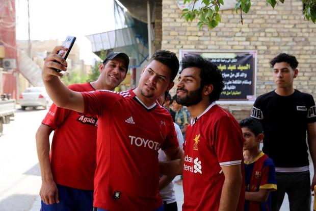 Salah có anh em sinh đôi ở Iraq, cũng là cầu thủ bóng đá - Ảnh 2.