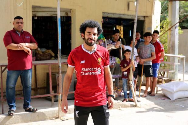 Salah có anh em sinh đôi ở Iraq, cũng là cầu thủ bóng đá - Ảnh 1.