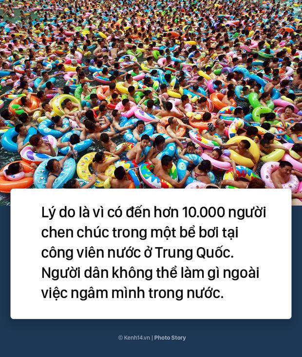 Đến hẹn lại lên: Vừa vào hè, bể bơi ở Trung Quốc đã đông tới mức phải gạt người ra để nhìn thấy nước - Ảnh 5.