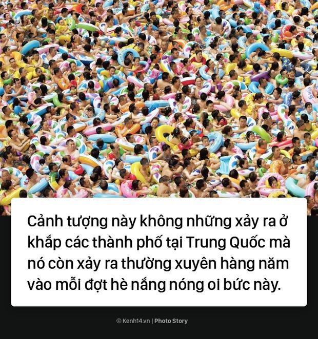 Đến hẹn lại lên: Vừa vào hè, bể bơi ở Trung Quốc đã đông tới mức phải gạt người ra để nhìn thấy nước - Ảnh 11.