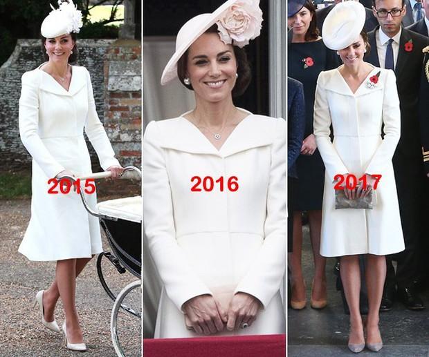 """Để ý mới thấy, Công nương Kate Middleton thường xuyên diện lại """"đồ cũ"""" theo cách mà hiếm ai nhận ra - Ảnh 2."""