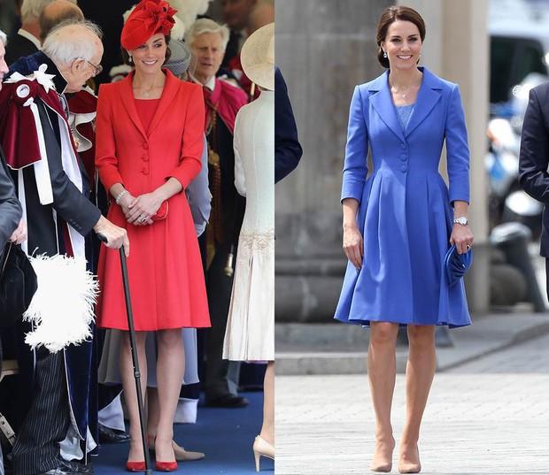 """Để ý mới thấy, Công nương Kate Middleton thường xuyên diện lại """"đồ cũ"""" theo cách mà hiếm ai nhận ra - Ảnh 3."""