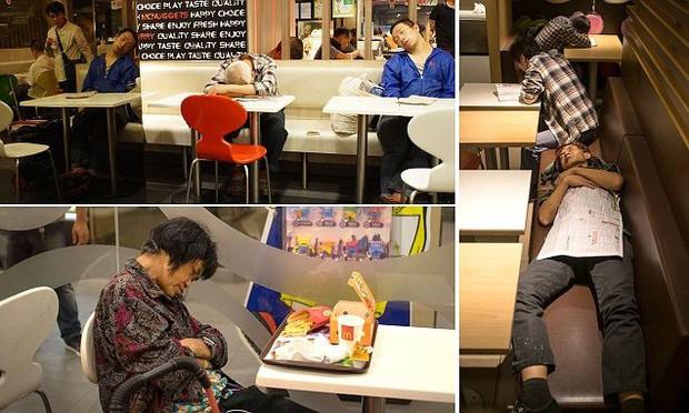 Câu chuyện về những người qua đêm tại McDonald Hồng Kông: Khi chốn công cộng trở thành nhà - Ảnh 4.