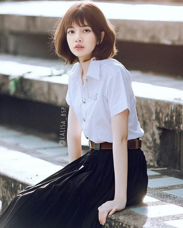 Lisa (Black Pink) rất xinh nhưng loạt ảnh photoshop này cho thấy cô nàng mà đổi kiểu tóc thì còn xinh hơn - Ảnh 7.