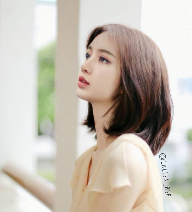 Lisa (Black Pink) rất xinh nhưng loạt ảnh photoshop này cho thấy cô nàng mà đổi kiểu tóc thì còn xinh hơn - Ảnh 6.