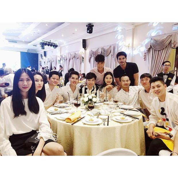 Cao Ngân, Chà Mi và dàn mẫu Next Top cùng đến chúc mừng đám cưới của Nguyễn Hợp - Ảnh 3.