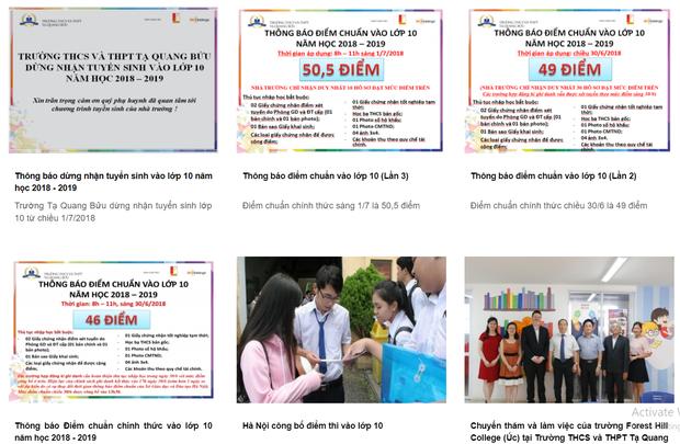 Tăng điểm chuẩn như chơi chứng khoán từ 46 lên 50.5 rồi đột ngột ngưng tuyển sinh, trường Tạ Quang Bửu khiến nhiều cha mẹ bật khóc - Ảnh 2.