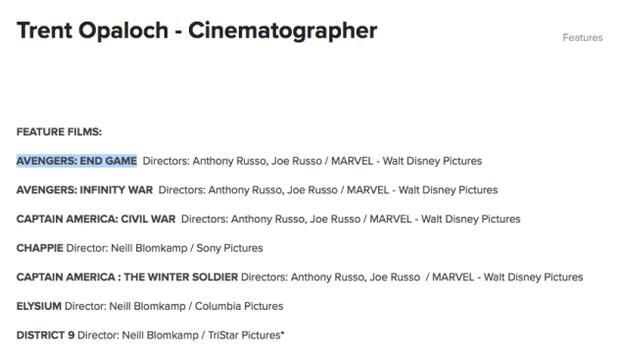 Anh quay phim của Avengers 4 làm lộ tên chính thức của phim, phải lật đật đi chữa cháy? - Ảnh 1.