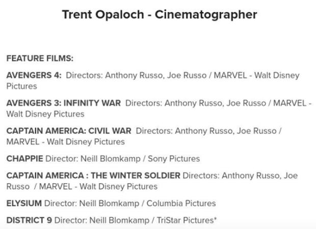Anh quay phim của Avengers 4 làm lộ tên chính thức của phim, phải lật đật đi chữa cháy? - Ảnh 2.