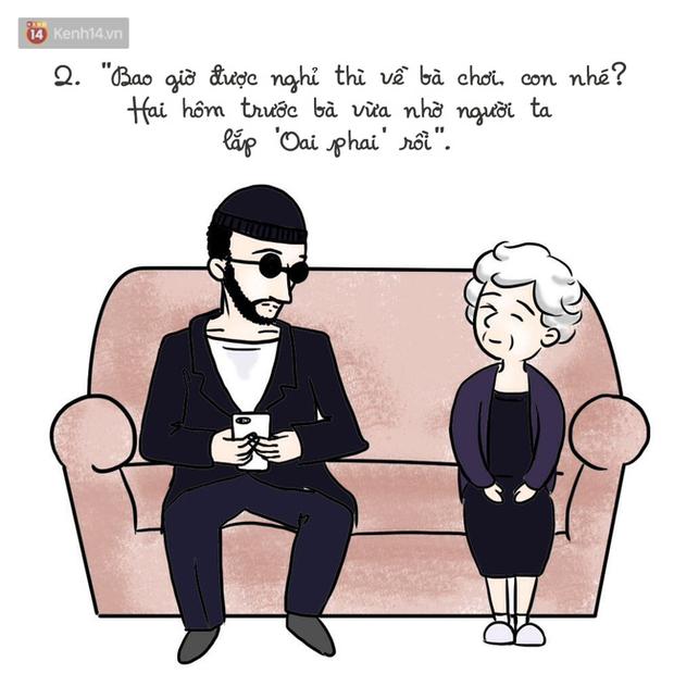 Bộ tranh: Liệu trên đời có hạnh phúc nào ấm áp hơn việc được ông bà yêu thương? - Ảnh 3.