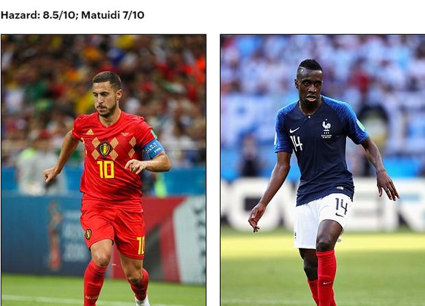 Bán kết World Cup Pháp - Bỉ: So sánh tương quan lực lượng 2 đội - Ảnh 11.