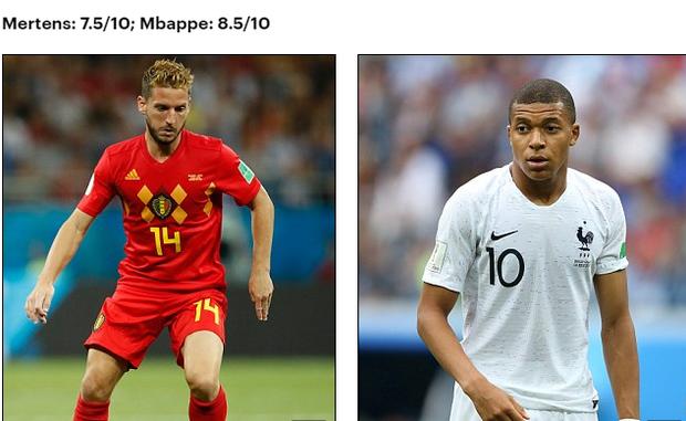 Bán kết World Cup Pháp - Bỉ: So sánh tương quan lực lượng 2 đội - Ảnh 9.