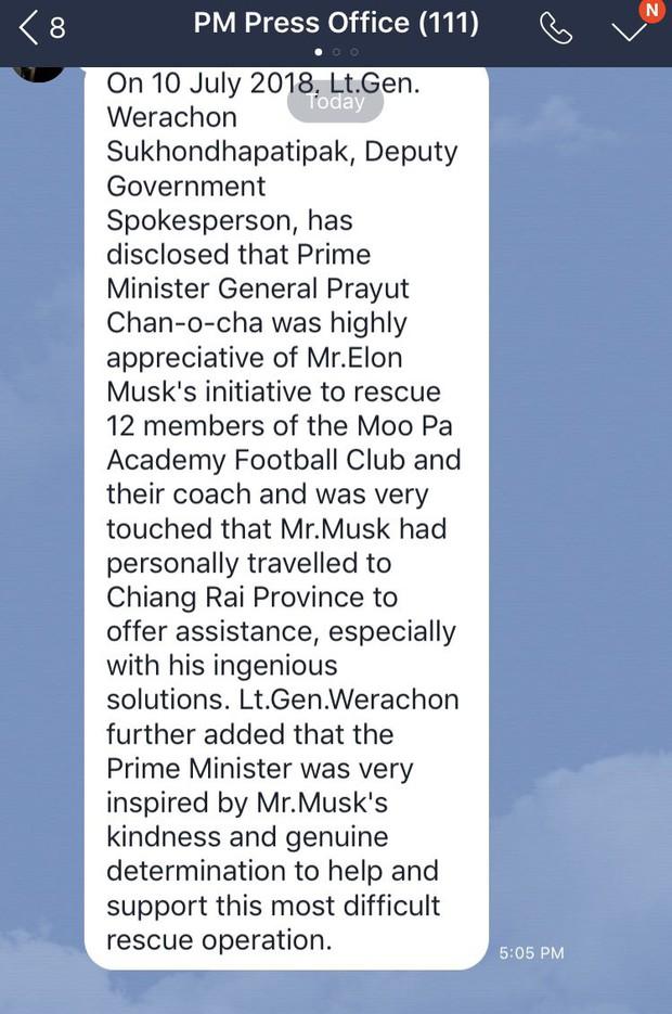 Chỉ huy giải cứu đội bóng Thái Lan từ chối công nghệ của Elon Musk vì tốt nhưng chưa đủ thực tế - Ảnh 2.