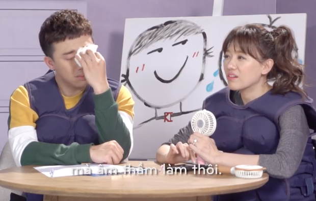 Clip: Ai cũng bật cười khi cặp đôi Trường Giang - Hương Giang khoe giọng - Ảnh 4.