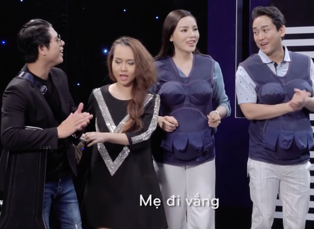 Clip: Ai cũng bật cười khi cặp đôi Trường Giang - Hương Giang khoe giọng - Ảnh 7.