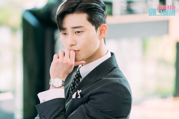 Hậu trường Thư Ký Kim: Quá bất ngờ với thứ đựng trong hộp quà Park Seo Joon mang ra đảo - Ảnh 14.