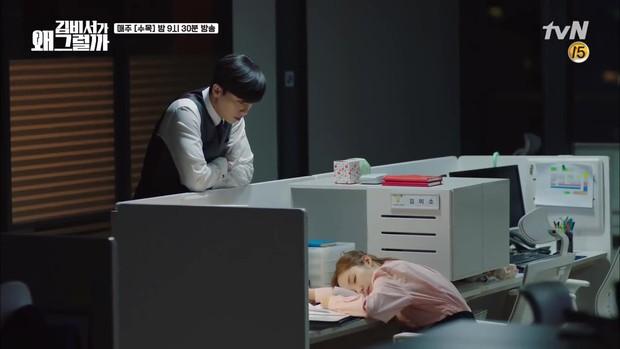 Thư Ký Kim tập 11: Mất bình tĩnh với cảnh giường chiếu đầu tiên của đôi chính - Ảnh 14.