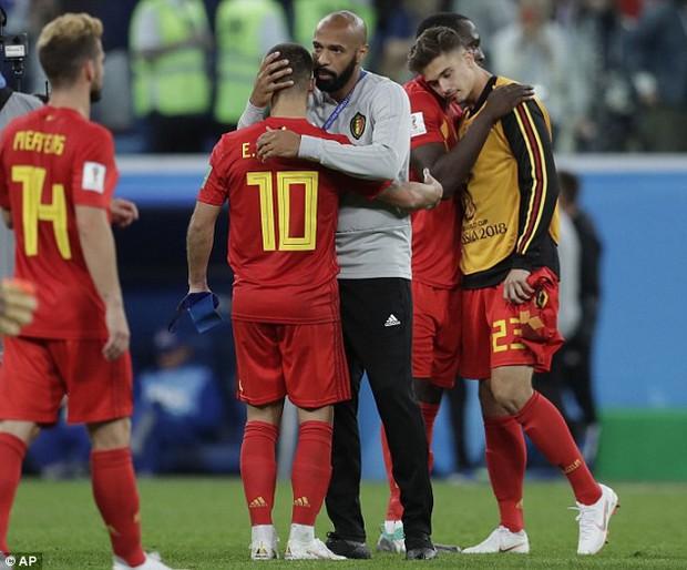 Thierry Henry buồn bã, động viên Hazard đứng dậy sau thất bại - Ảnh 6.