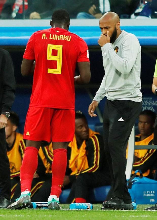 Thierry Henry buồn bã, động viên Hazard đứng dậy sau thất bại - Ảnh 4.