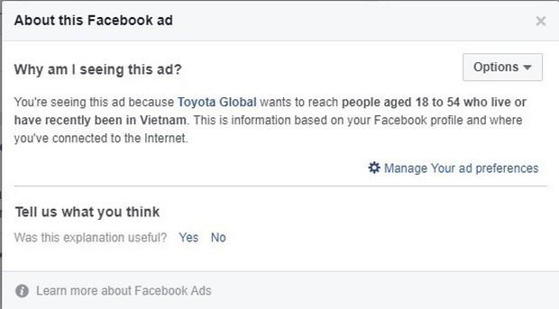 Suốt ngày nhìn thấy những quảng cáo ngượng chín mặt trên Facebook? Đây là cách giải quyết ngay! - Ảnh 3.