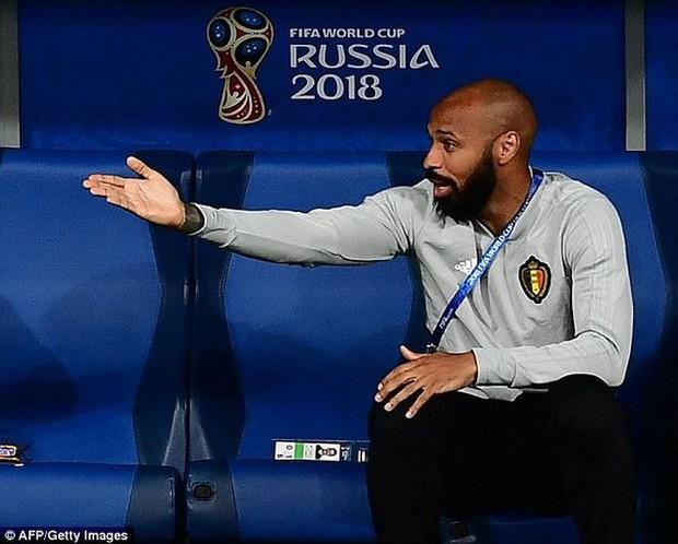 Sắc thái Thierry Henry trong nghịch cảnh bán kết Pháp - Bỉ - Ảnh 8.