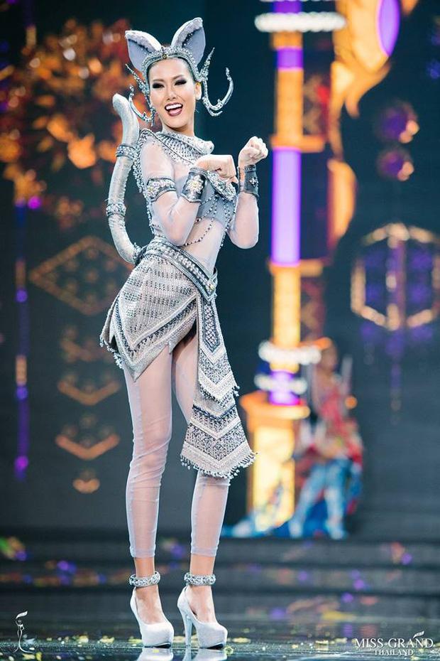 Dàn thí sinh Hoa hậu Hòa bình Thái Lan: Người cưỡi khủng long, kẻ biến thành tô tom yum chua cay trên sân khấu - Ảnh 9.
