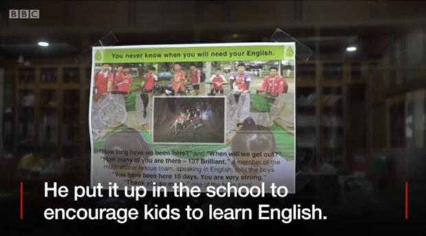 Thầy giáo tiếng Anh của các cầu thủ nhí Thái Lan vừa được giải cứu: Hãy học tiếng Anh đi vì rồi bạn cũng sẽ cần nó đấy! - Ảnh 4.