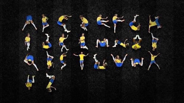 Đẳng cấp chế: 26 tư thế lăn lộn của Neymar thành bảng chữ cái - Ảnh 1.