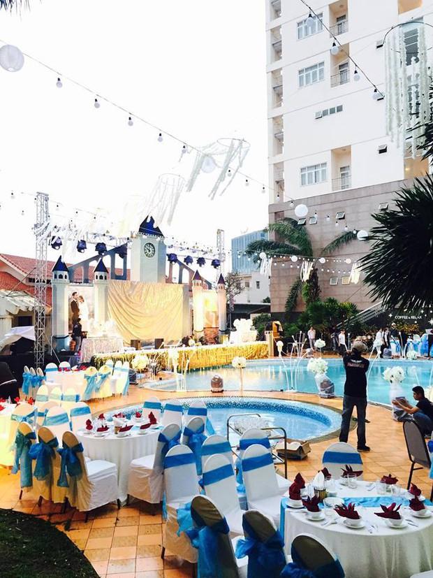 Lễ báo hỉ hoành tráng mời 1.000 khách, nguyên dàn motor đưa dâu, riêng trang trí đã hết 200 triệu ở Buôn Mê Thuột - Ảnh 1.