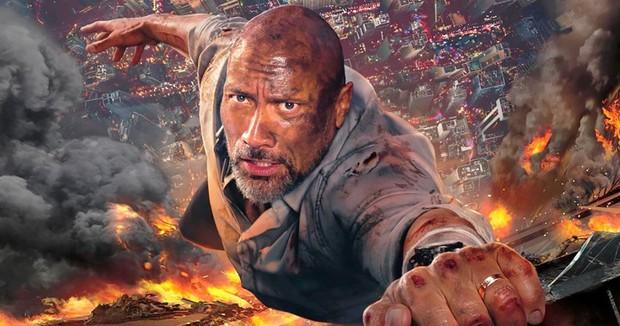 Siêu anh hùng có là gì, hãy xem The Rock phá đảo cả tòa tháp chọc trời đây này! - Ảnh 2.