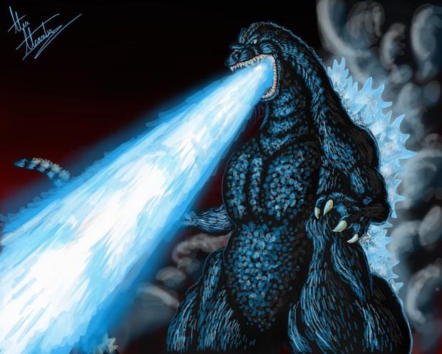 """Khạc lửa chỉ thiên """"thả thính"""" bật tung năng lượng, """"vua của các quái vật"""" Godzilla gây không ít tò mò - Ảnh 5."""