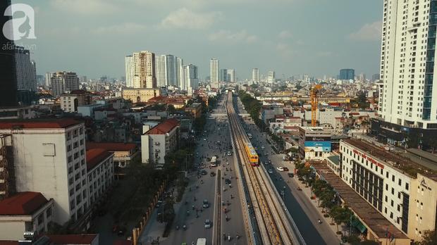 Đường sắt Cát Linh - Hà Đông chạy thử tàu- Ảnh 3.