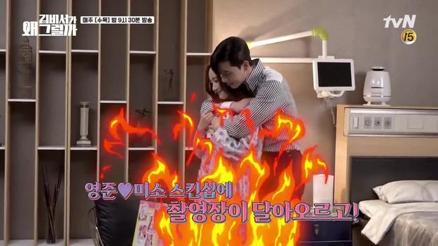 Thư Ký Kim: Đóng cảnh ôm thôi mà Park - Park đã thấy nóng trong người, tình ý gì đây? - Ảnh 3.
