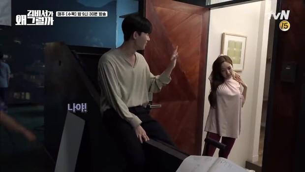 Thư Ký Kim: Đóng cảnh ôm thôi mà Park - Park đã thấy nóng trong người, tình ý gì đây? - Ảnh 9.