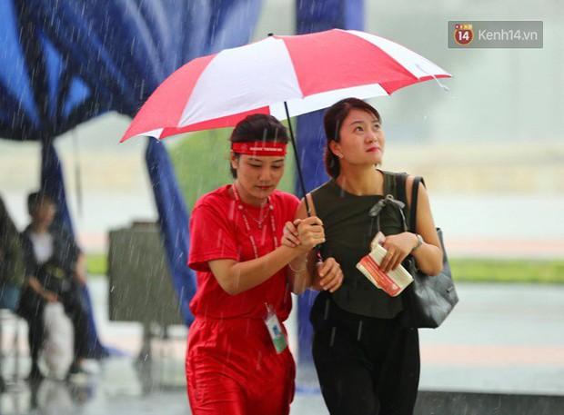 Gần 1.000 người đội mưa tham gia hiến máu trong ngày hội Giọt hồng tri ân và Hành trình Đỏ lần thứ VI - 2018 - Ảnh 1.